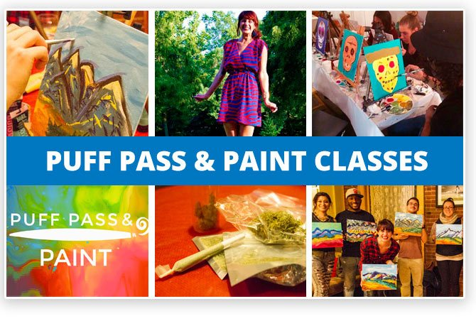 Denver 420 Puff Pass Paint Classes