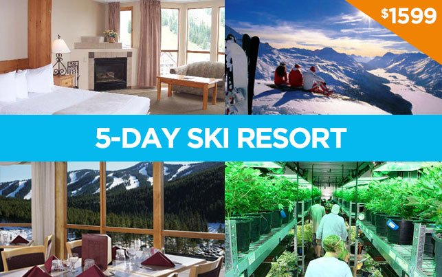 2-person 5-day Ski Resort Package