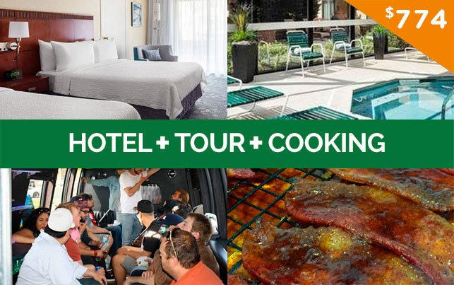 420 Friendly Hotel + CCT Tour + Marijuana Cooking Package