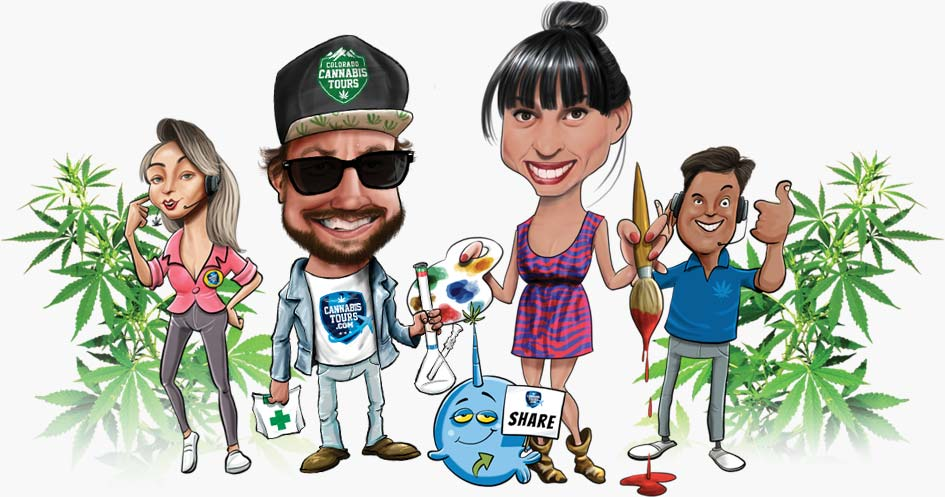 Your 420-friendly Colorado Cannabis Tours and Hotels Team