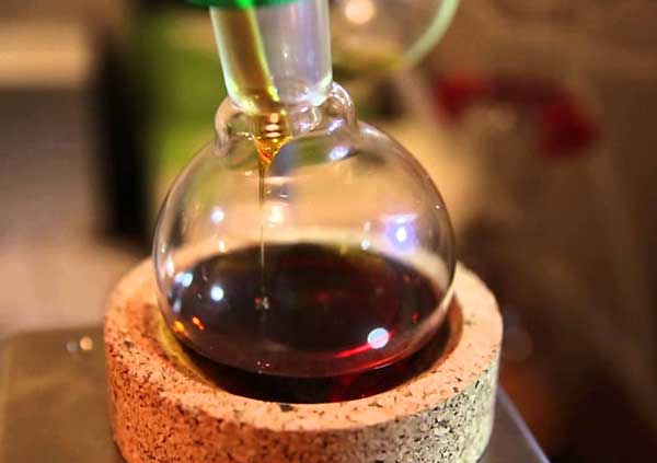Distillation Cannabis THC Oil