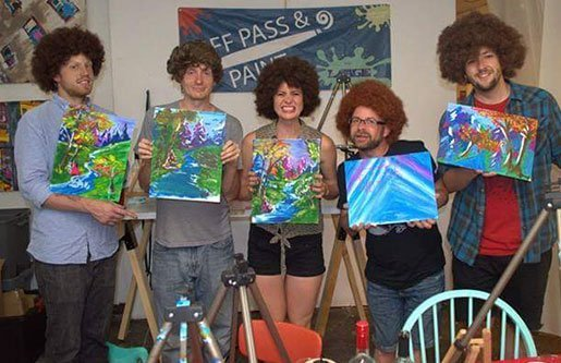 Puff Pass and Paint