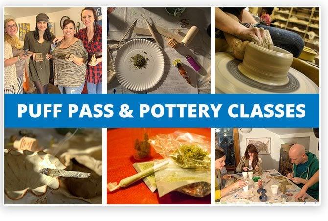 Denver 420 Pottery Puf Pass Class