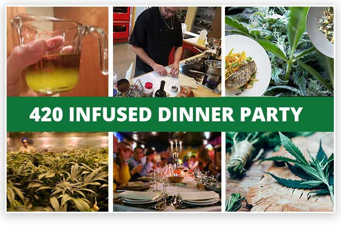 Denver Infused Cananbis Dinner Party