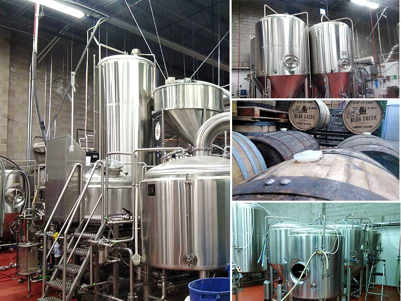 Tour and learn about the beer brewing process