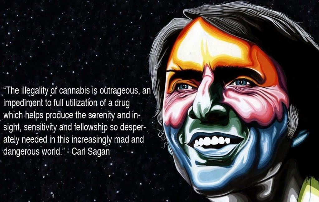 Carl sagan marajuana and sex