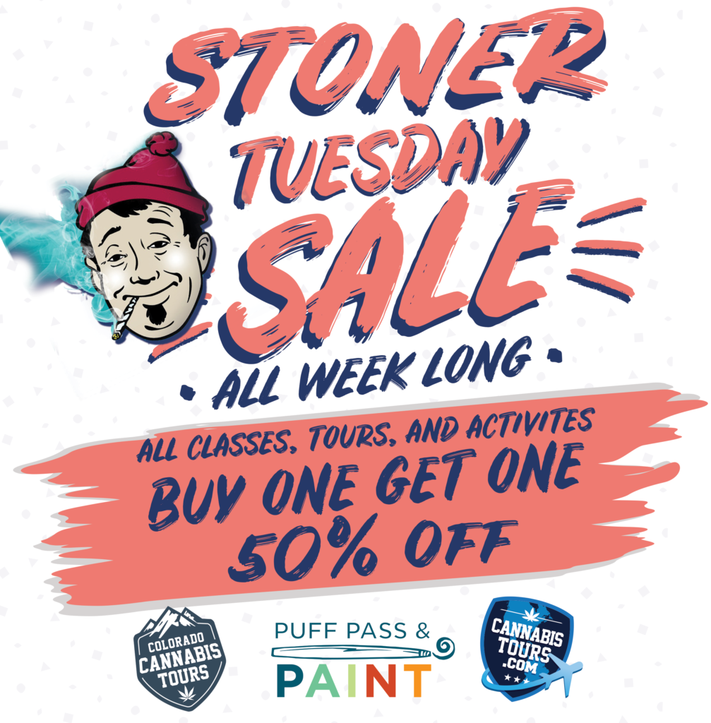 Stoner Sale Buy one Get one 50% off!