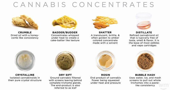 cannabis concentrates oils