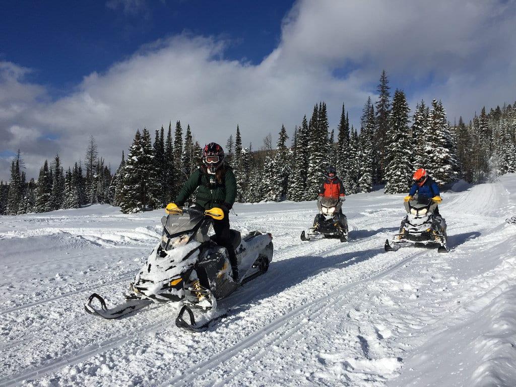 snowmobiling denver