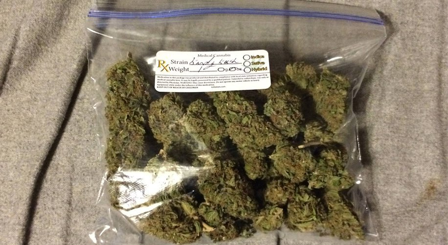 ounce of marijuana