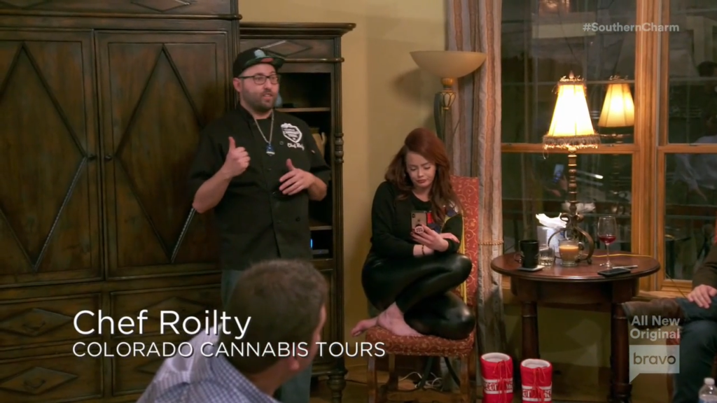Infusion Chef Roilty from Colorado Cannabis Tours